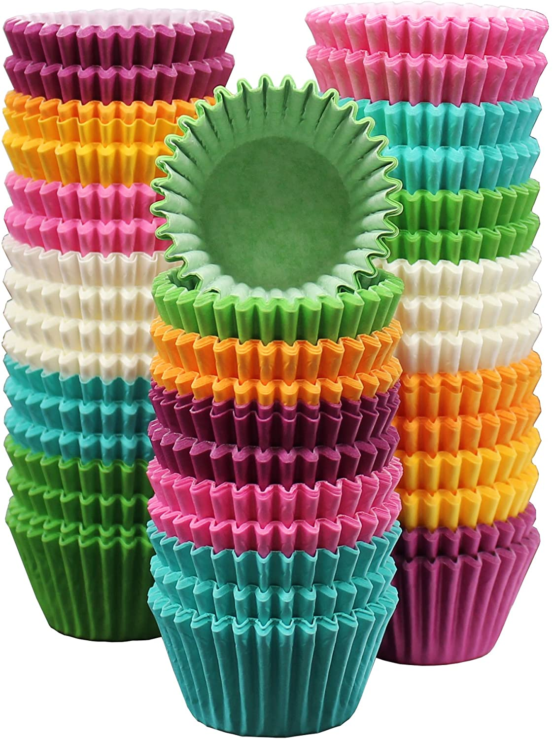 300-Pack Holiday Party Paper Baking Cups