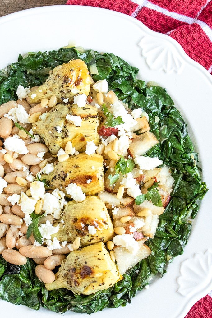 Roasted Artichoke & White Bean Salad