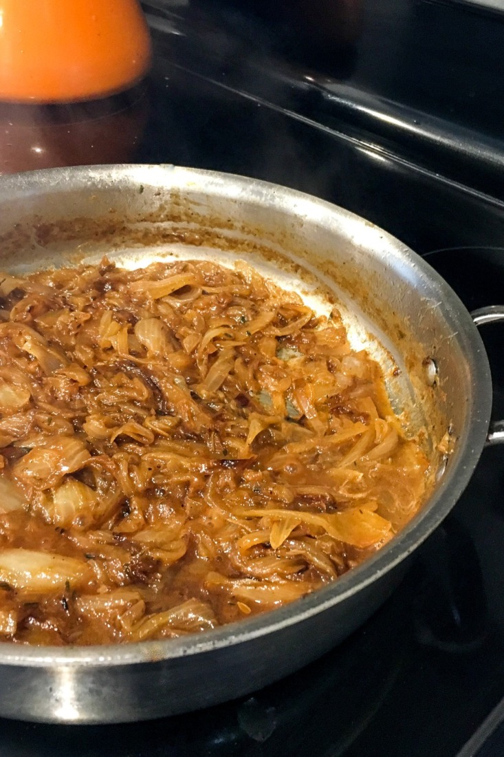 If you are wondering how to make carmelized onions this recipe will help you make perfect carmelized onions every time.