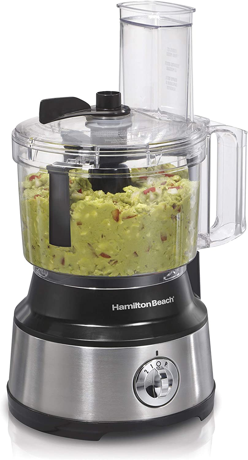 Hamilton Beach 70730C 10 Cup Food Processor with Bowl Scraping Feature