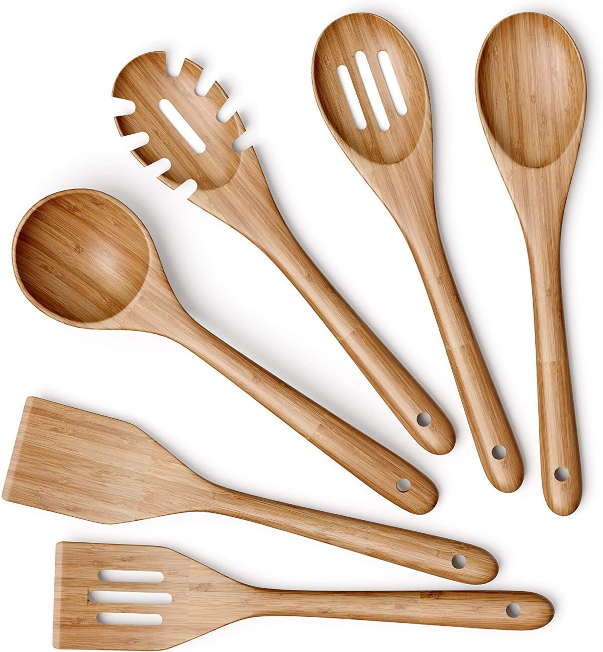 Bamboo Wooden Utensils for Cooking
