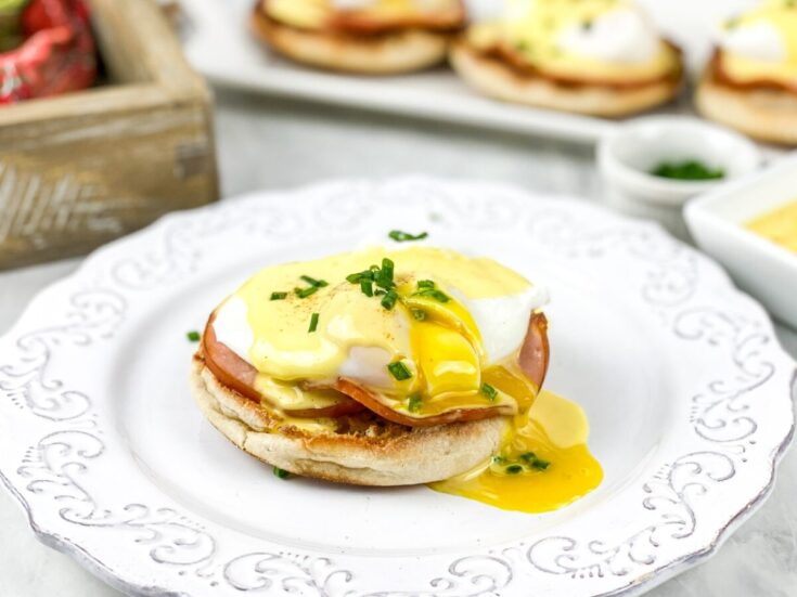 Eggs Benedict with the BEST Hollandaise Sauce