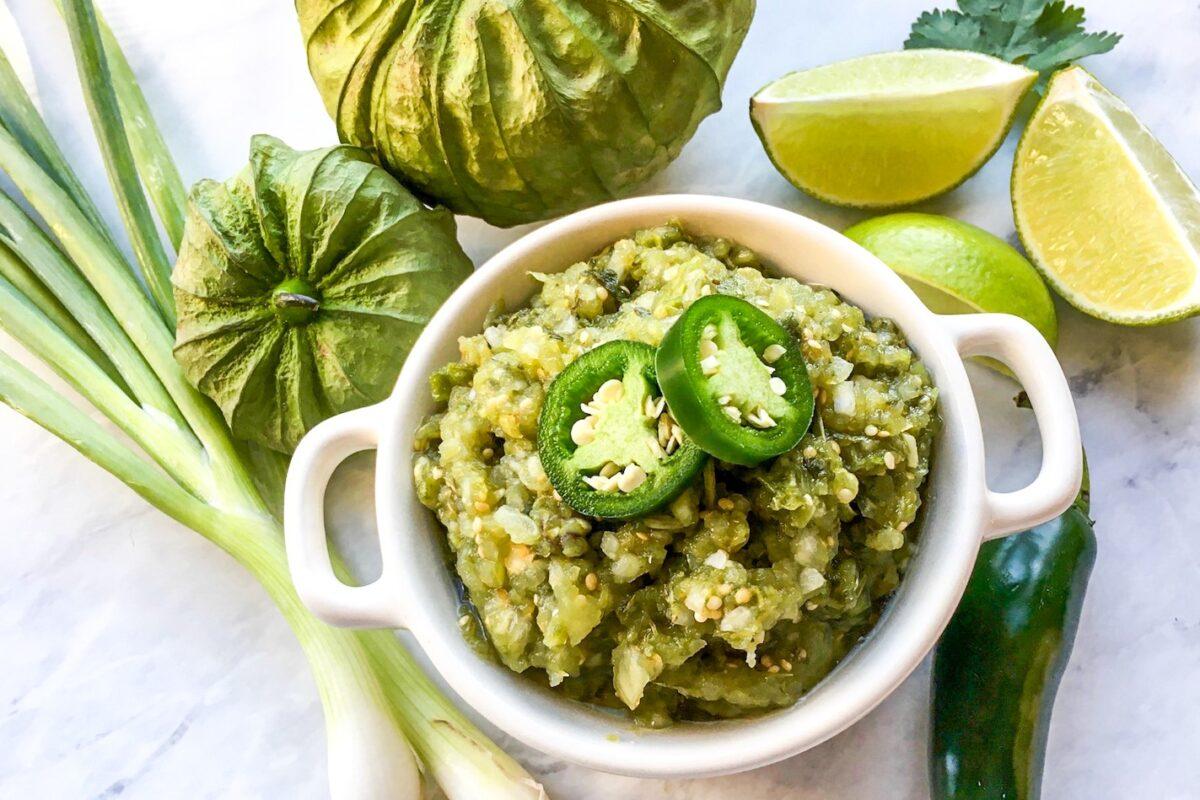 Easy Roasted Jalapeño Salsa Verde Recipe