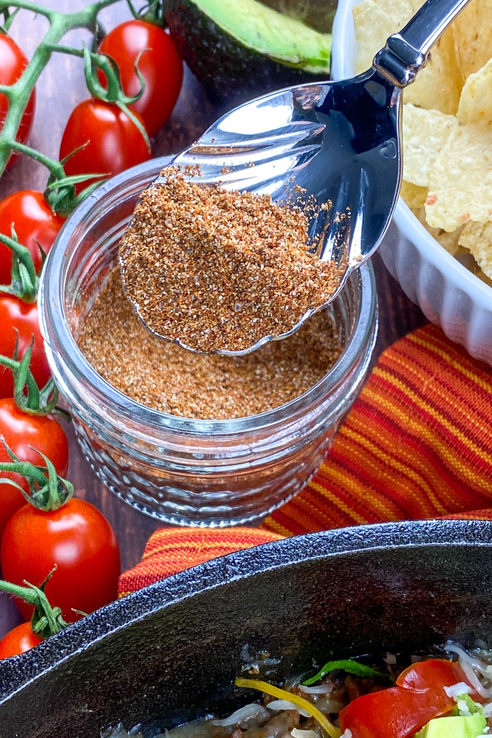 Looking for a low carb taco seasoning recipe? Here's one that is sugar free, gluten free and tastes amazing on any meat or veggies!